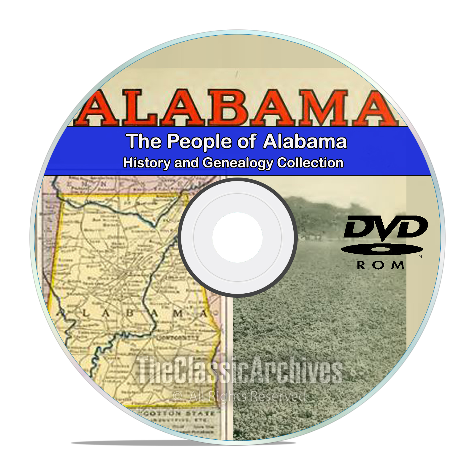 Alabama AL, People, Cities, & Towns, History and Genealogy, 94 Books, DVD