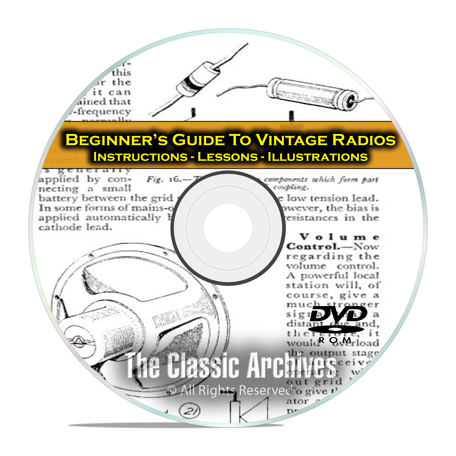 How to Repair Vintage Radios, Beginners Novice Instructional Guide Books CD