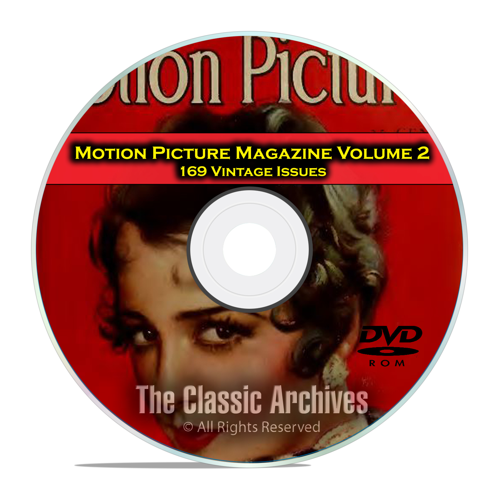 Motion Picture Movie Magazine, Volume 2, 169 Issues, 1925 - 1941, DVD