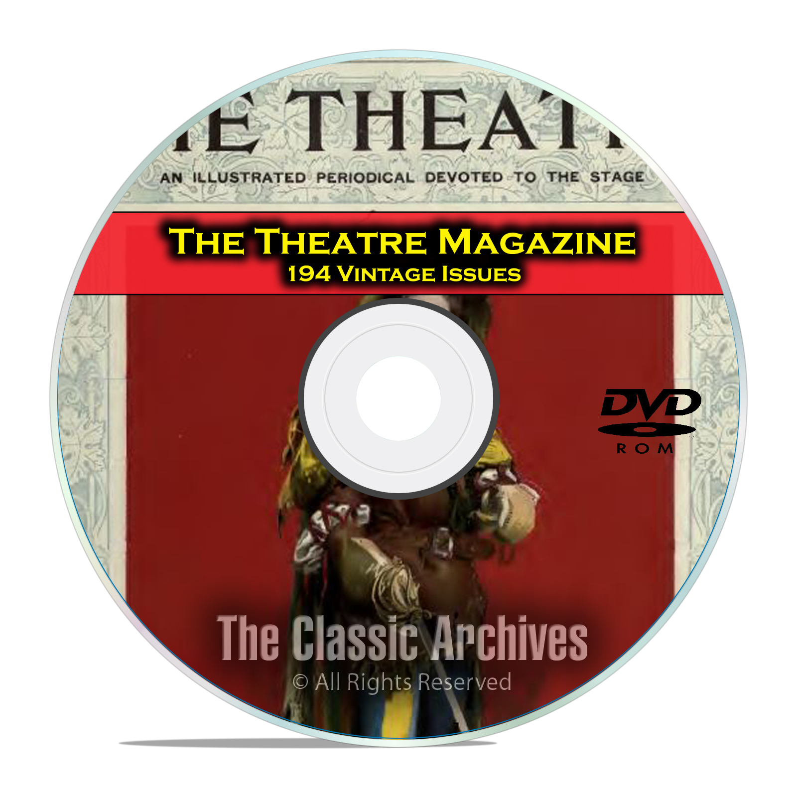 Theatre Magazine, 194 Issues, Vintage Plays Opera Arts Broadway Drama DVD