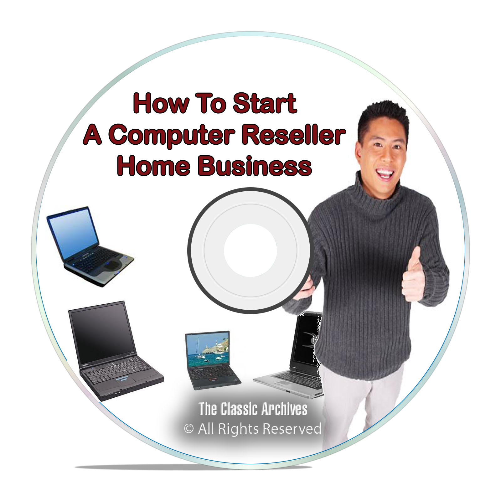 How To Start a Computer Reseller Home Business Online, Sell Laptops PDF DVD
