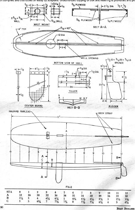 old fishing boat plans