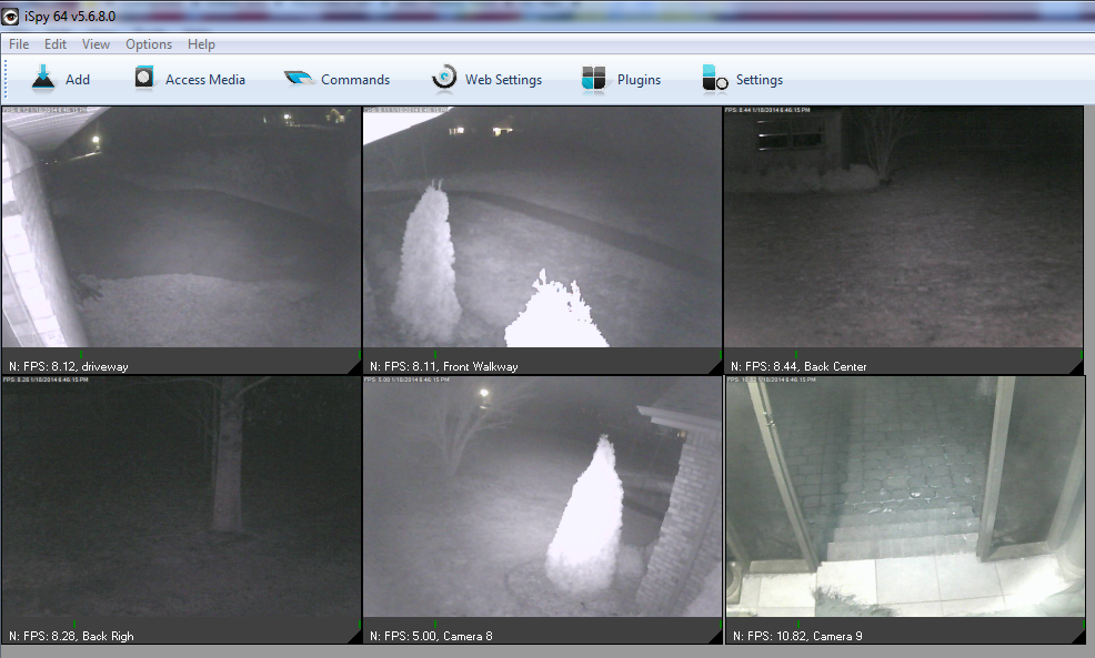Ispy ip camera dvr video recording software with ip cam for Security camera placement software