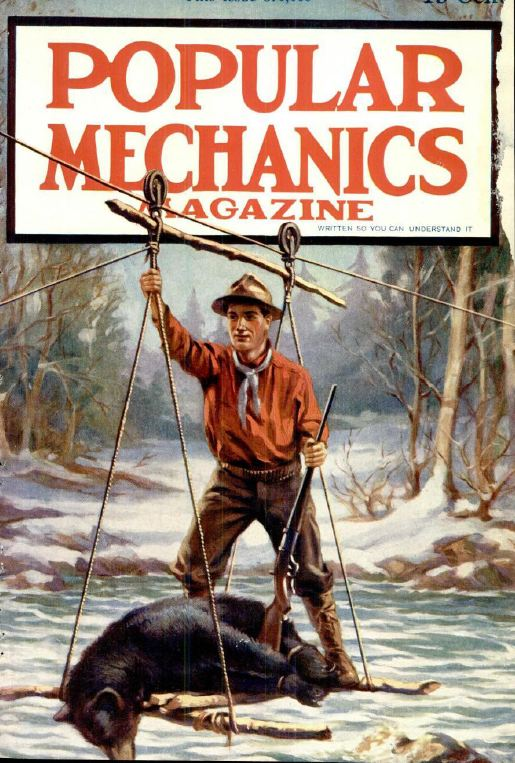Vintage Popular Mechanics Magazine Volume 2 Dvd 1913