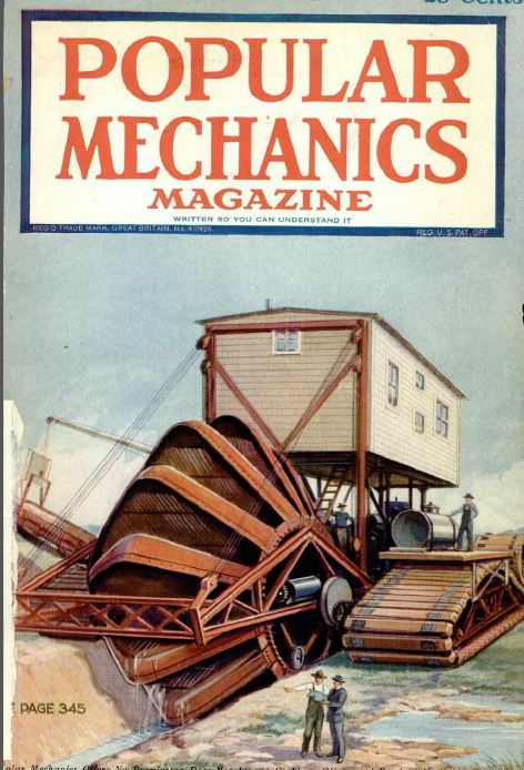 Vintage Popular Mechanics Magazine Volume 3 Dvd 1921