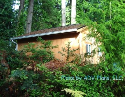 12x16 getaway cabin