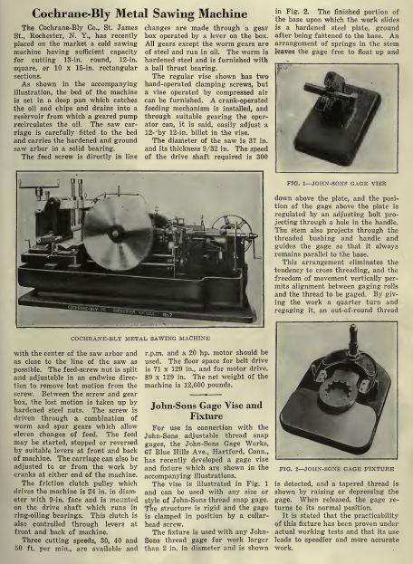 vintage american machinist magazines