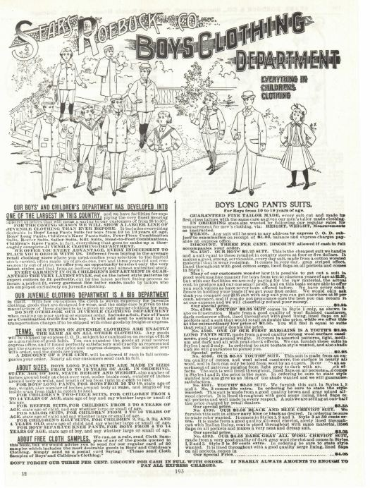 vintage department store catalogs