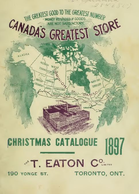 vintage eatons department store catalogs