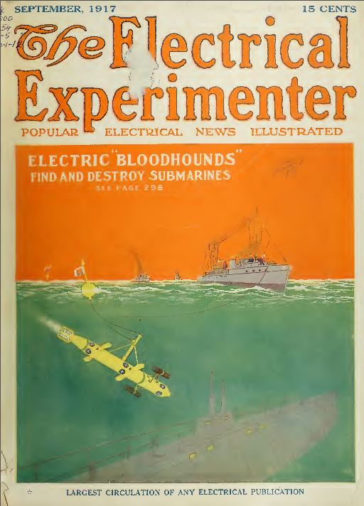 electrical experimenter magazine