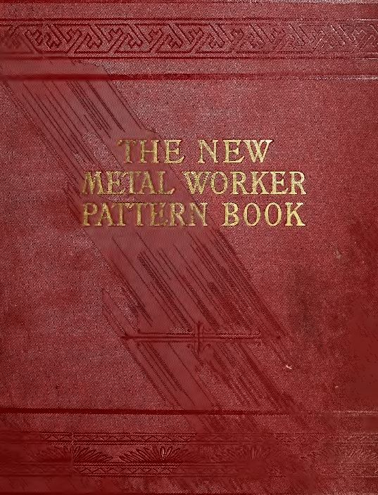 tinsmith metal working  books