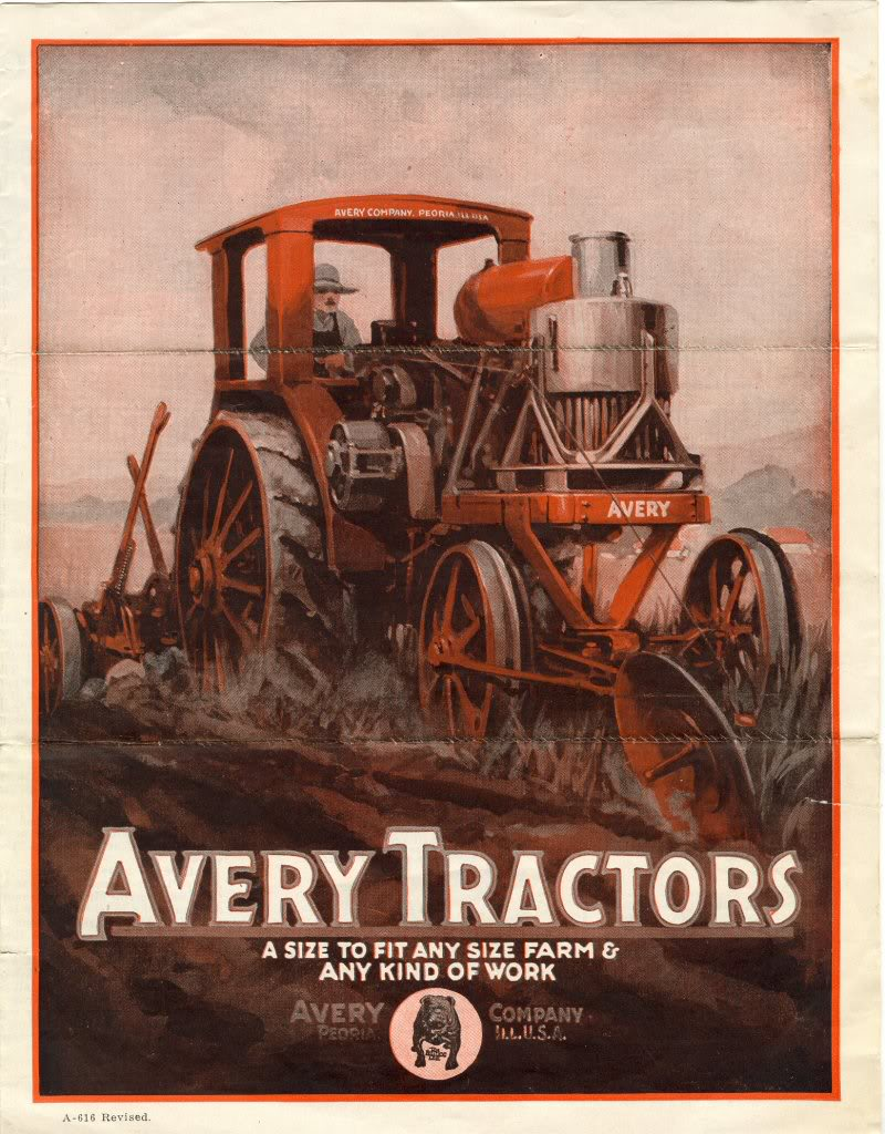 Vintage Tractors | Car Interior Design