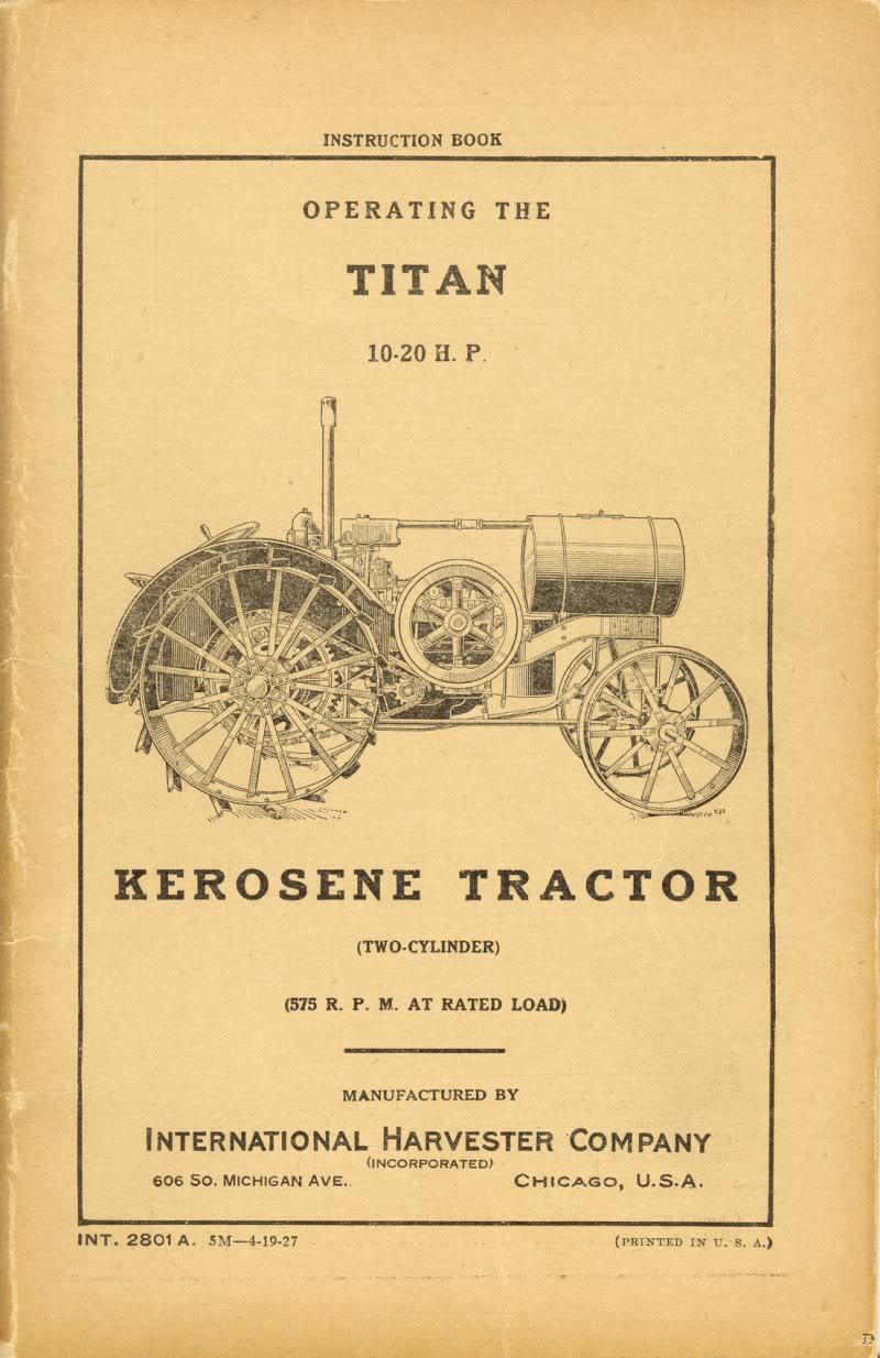 vintage tractors books