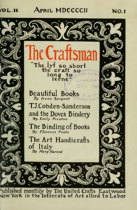 the craftsman magazine collection