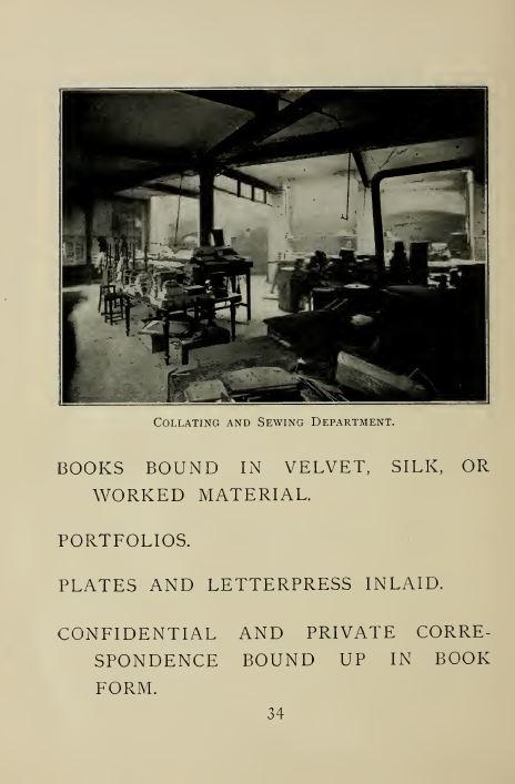 vintage bookbinding books