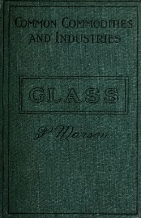 vintage glass blowing books