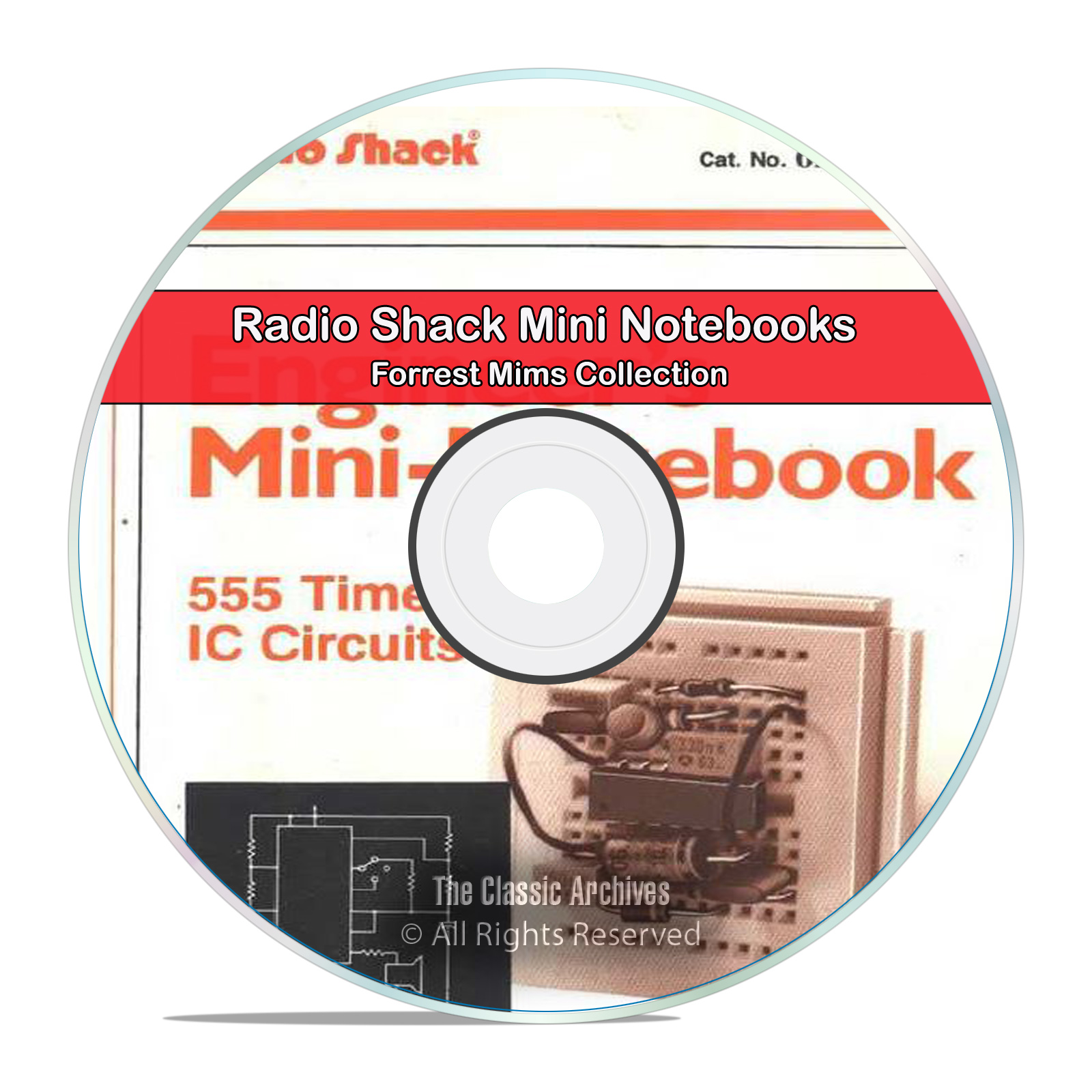 RadioShack Engineer's Mini Notebooks Forrest Mims Electronics Books DVD