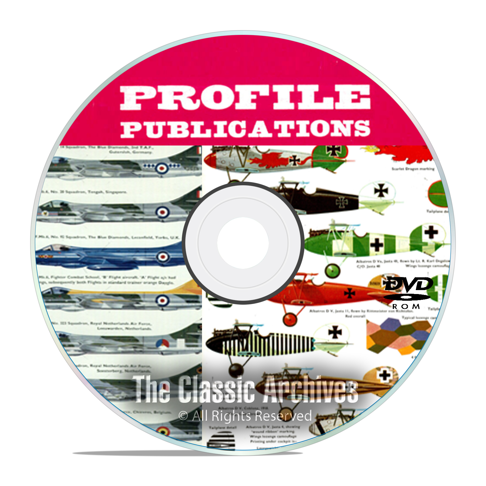 Profile Publicatio​ns Aircraft Series -262 Volume Aircraft History WW1 DVD