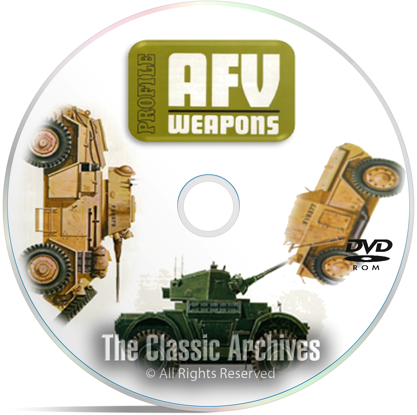 Profile Publicatio​ns Armored Fighting Vehicles -65 Volume AFV History DVD - Click Image to Close