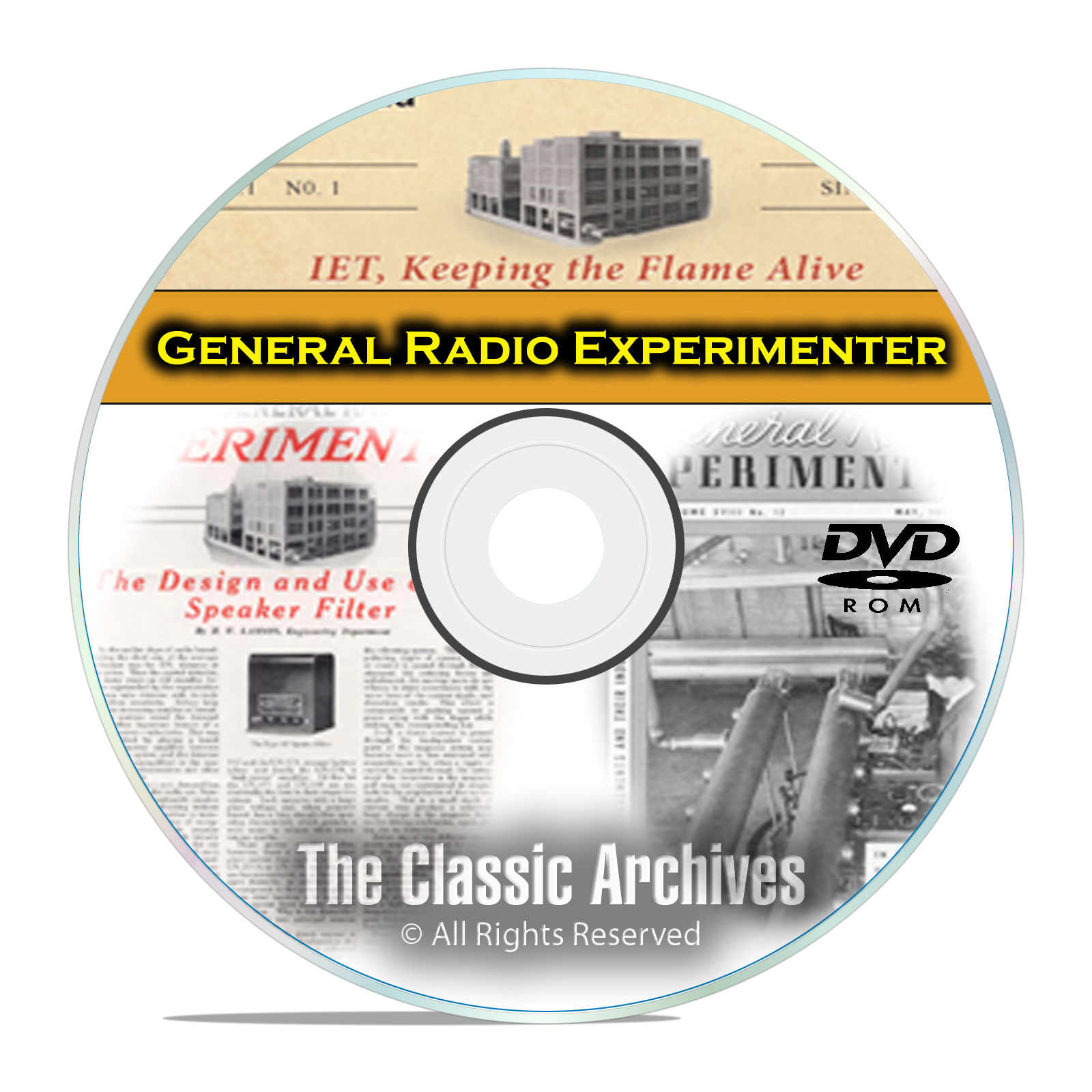 General Radio Experimenter Manuals 490 books Ham Crystal Wireless Set DVD