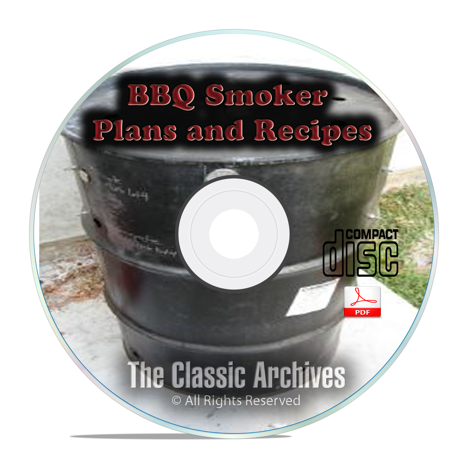 How To Build A Meat Smoker Smokehouse Plans, Smoking Meat Food Recipes CD