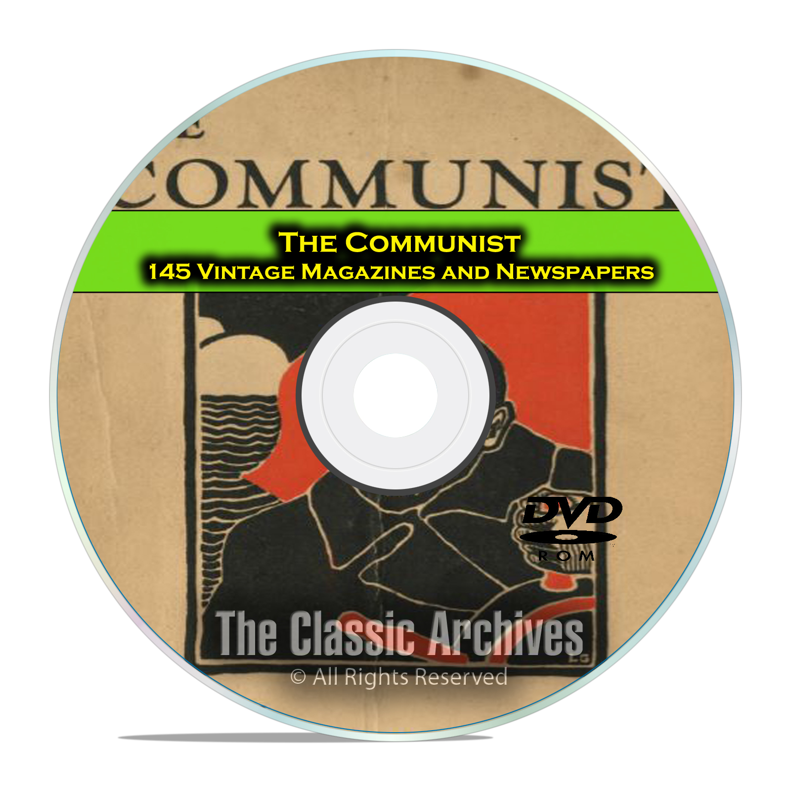 The Communist Magazine and Newspaper 145 back issues, Dawn of Communism DVD