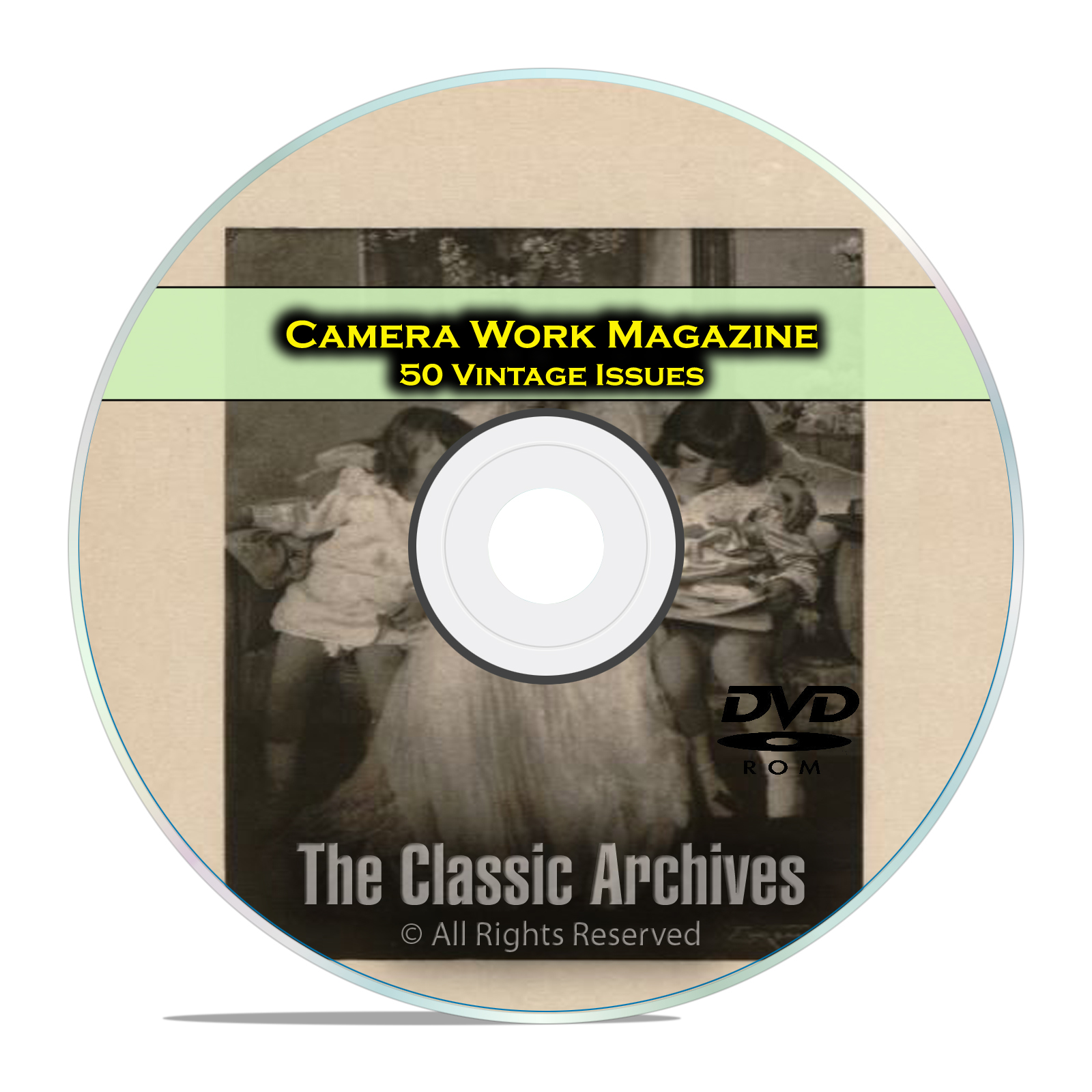 Camera Work Magazine, 50 Vintage Magazines 1903-1917 Classic Art Photos DVD
