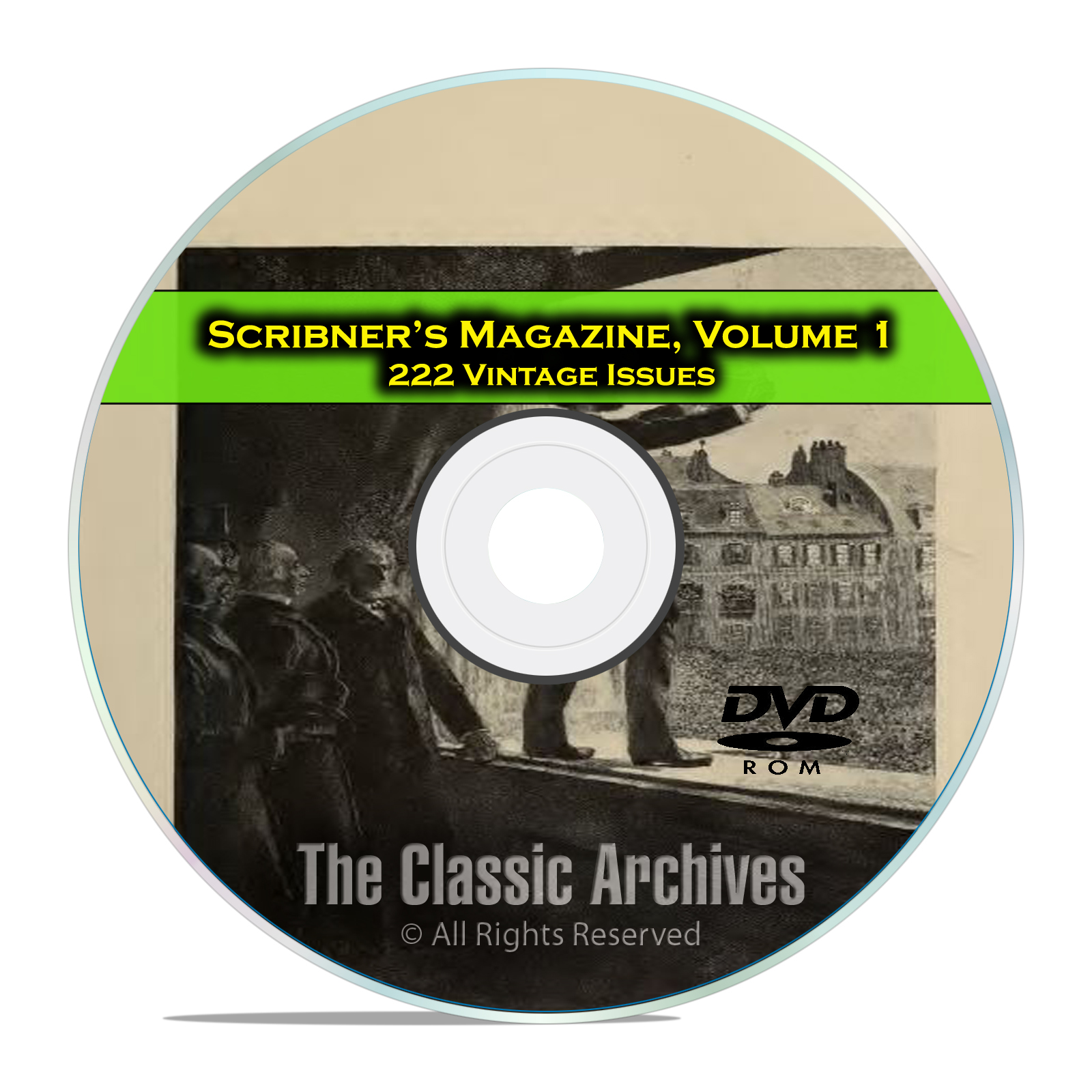 Scribner's Magazine, Vol 1, 222 Issues, 1887-1905 American History Mag DVD