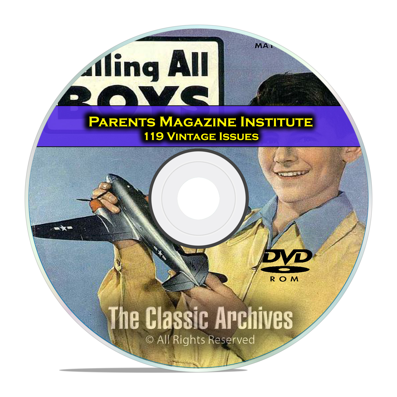Parents Magazine Institute, Calling All Boys, Girls, Golden Age Comics DVD