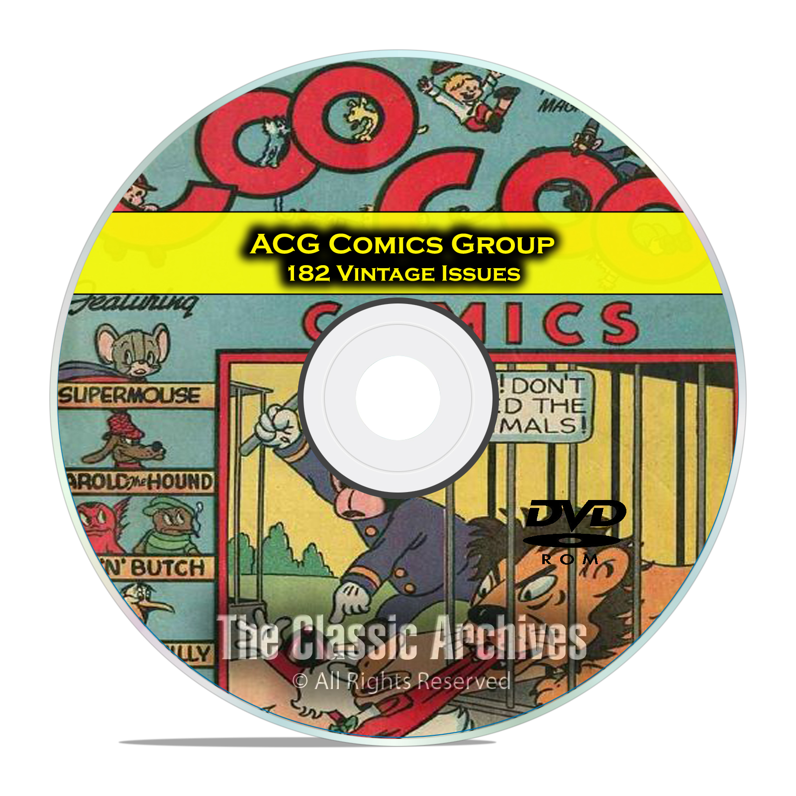 ACG Comics Coo Coo Comics, Kilroys, Cookie, Penny 182 Golden Age Comics DVD