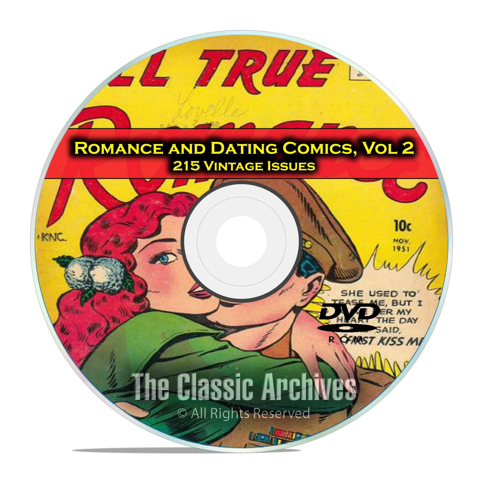 Romance, Love Dating Comics, Vol 2 Cowboy Love, Love Letters Golden Age DVD