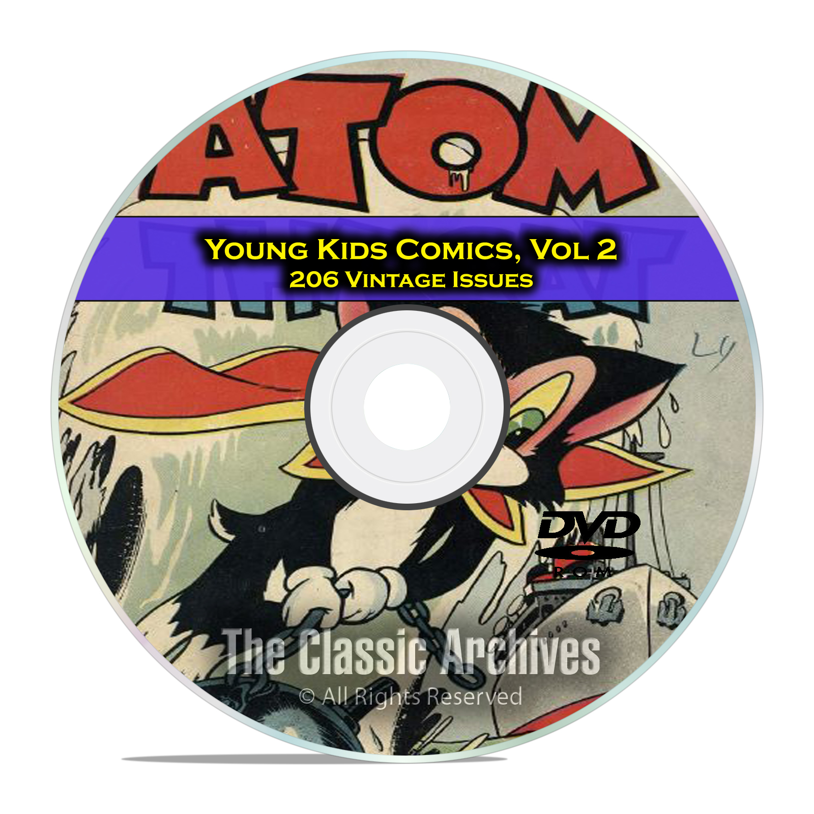 Young Kids Comics, Vol 2, Atomic Bunny, Atomic Mouse, Star Golden Age DVD