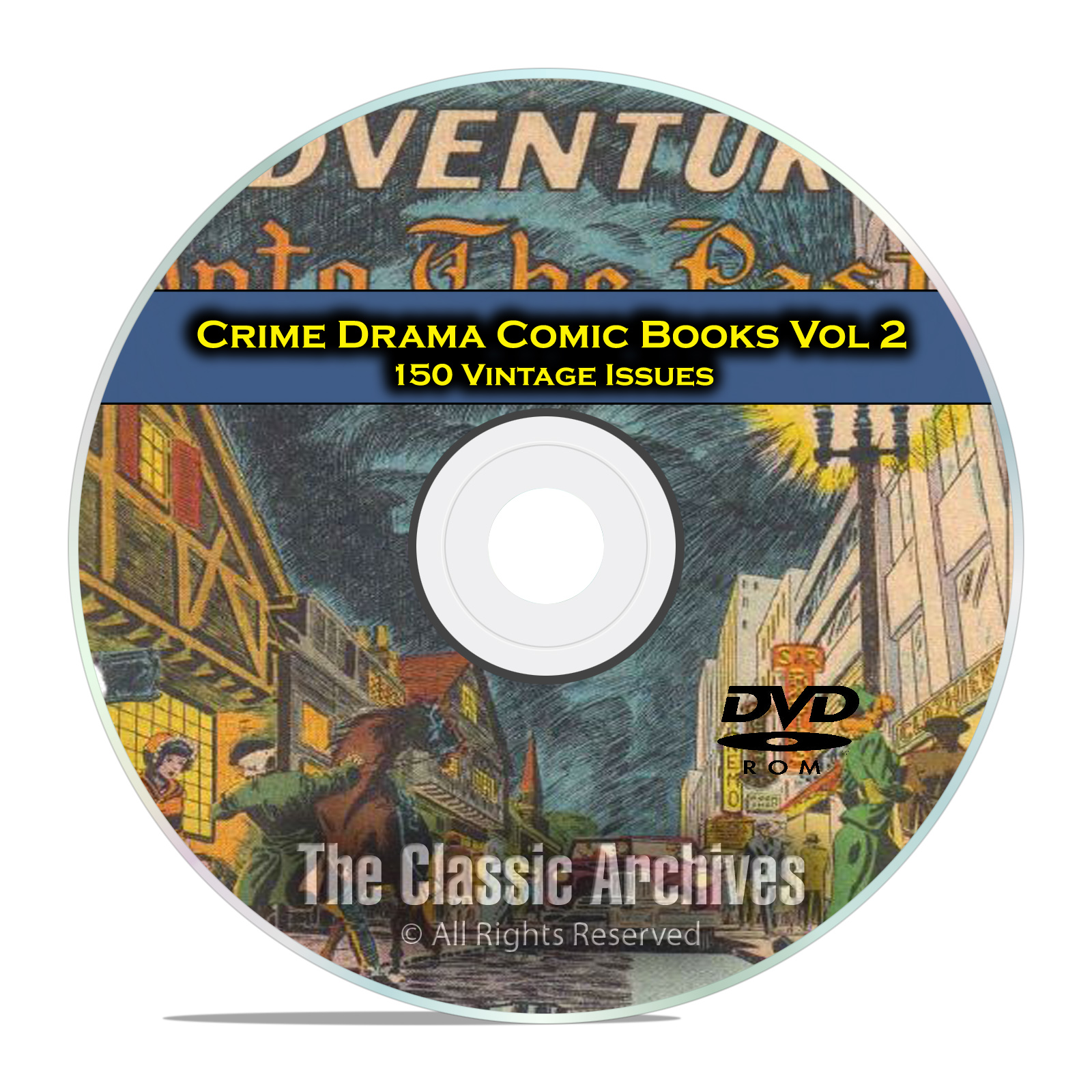 Crime Drama, Suspense, Vol 2, Brenda Starr, Famous, Golden Age Comics DVD