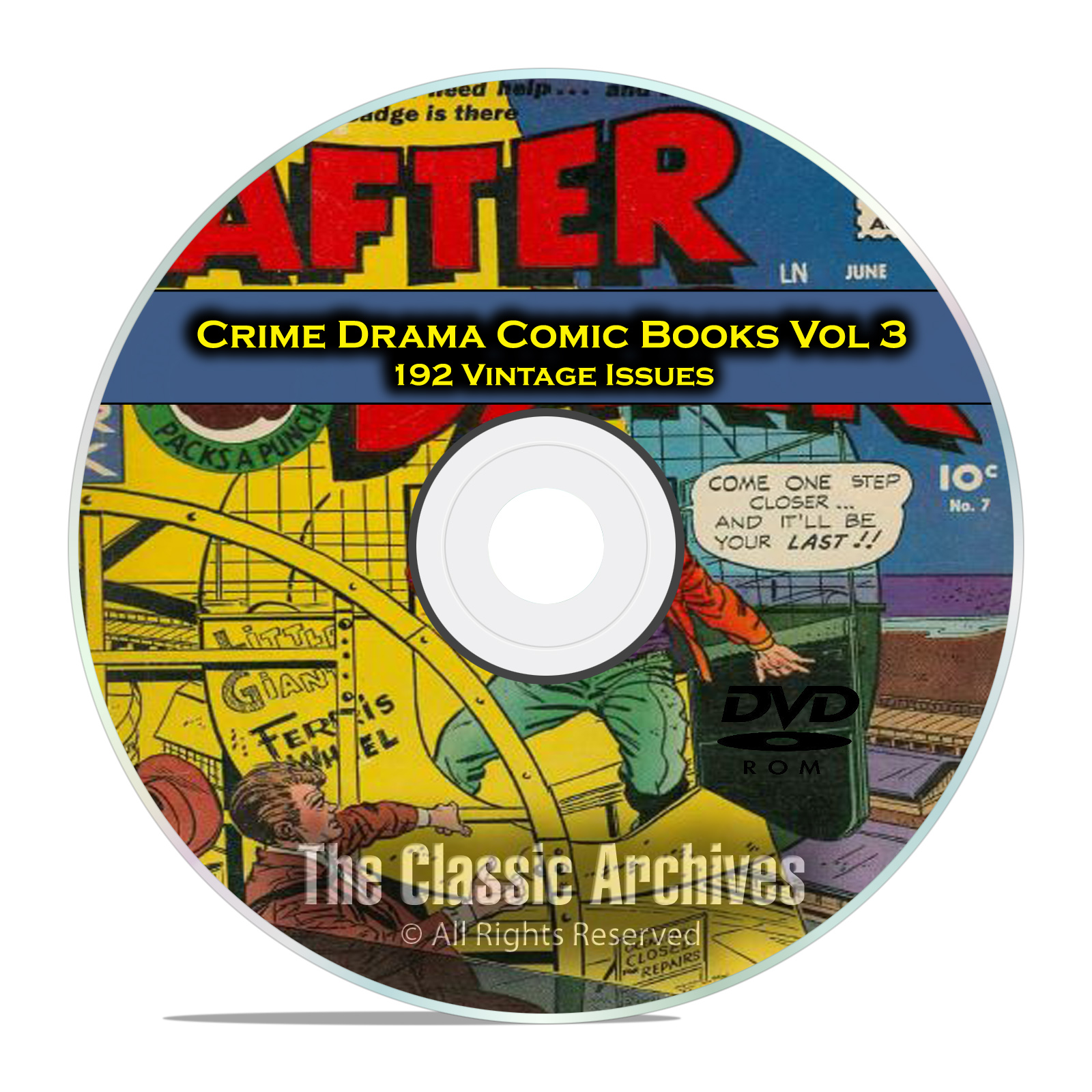 Crime Drama, Suspense, Vol 3, Murder Incorporated, Golden Age Comics DVD