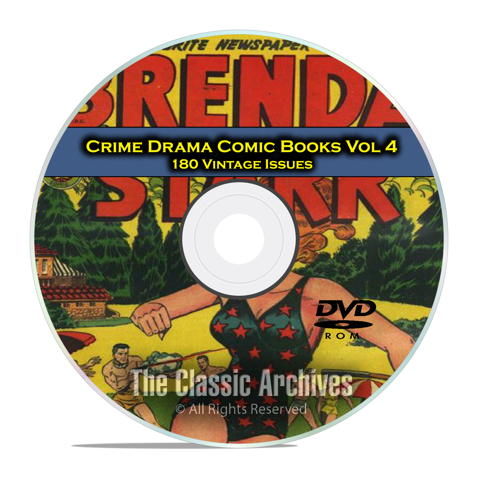Crime Drama, Suspense, Vol 4, Fight Against Crime, Golden Age Comics DVD