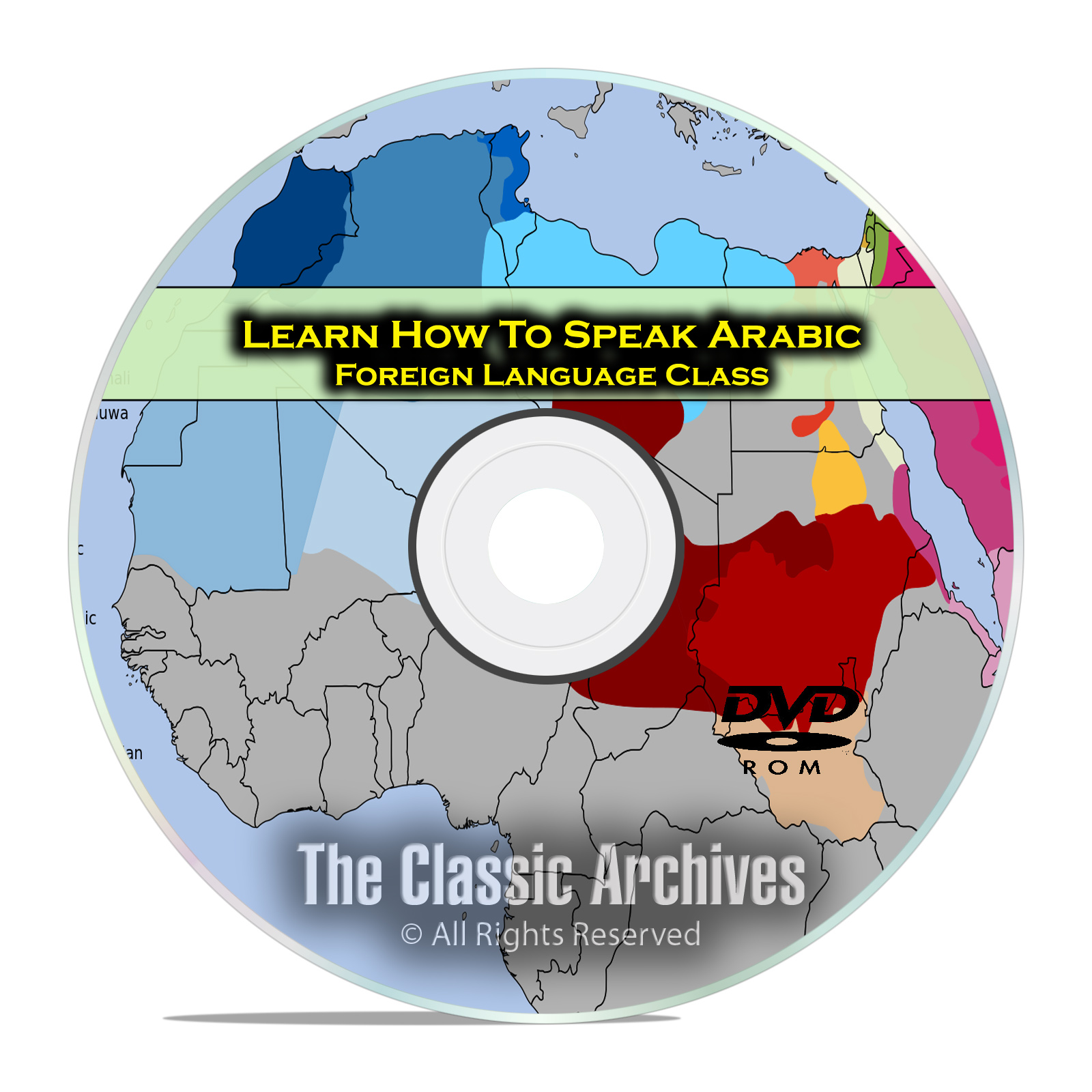 Learn How To Speak Arabic, Fast Easy Foreign Language Training Course, DVD