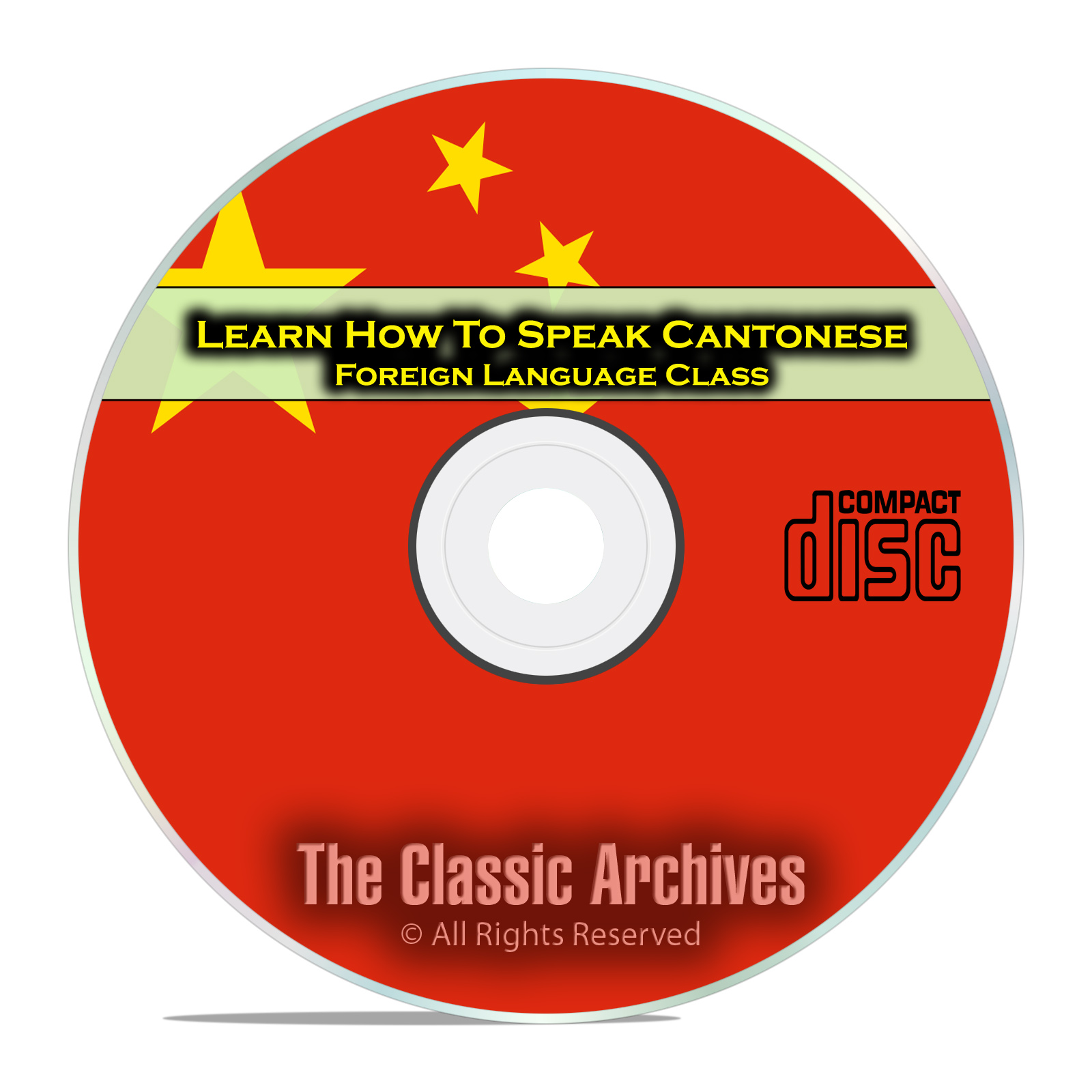 Learn How To Speak Cantonese, Fast Foreign Language Training Course, CD