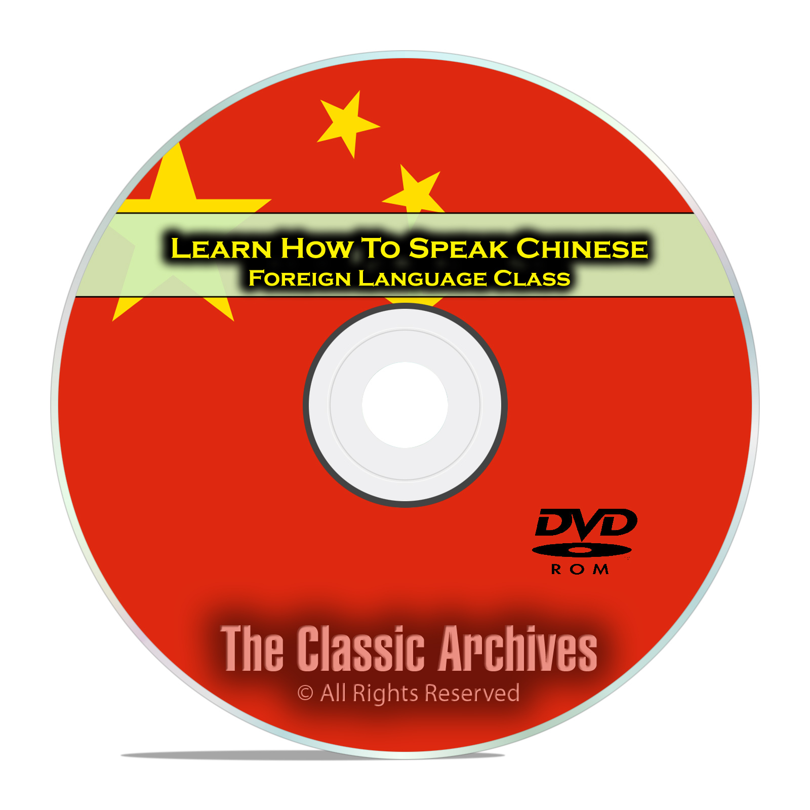 Learn How To Speak Chinese, Fast Foreign Language Training Course, DVD