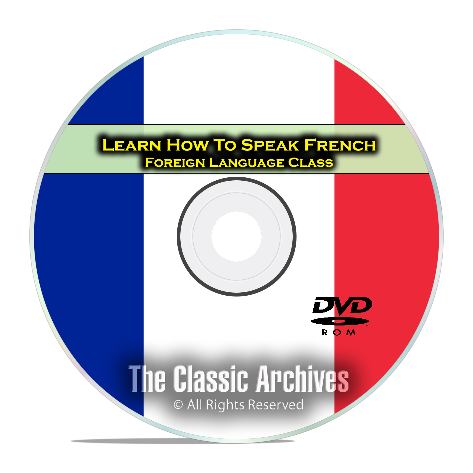 Learn How To Speak French, Fast Easy Foreign Language Training Course, DVD
