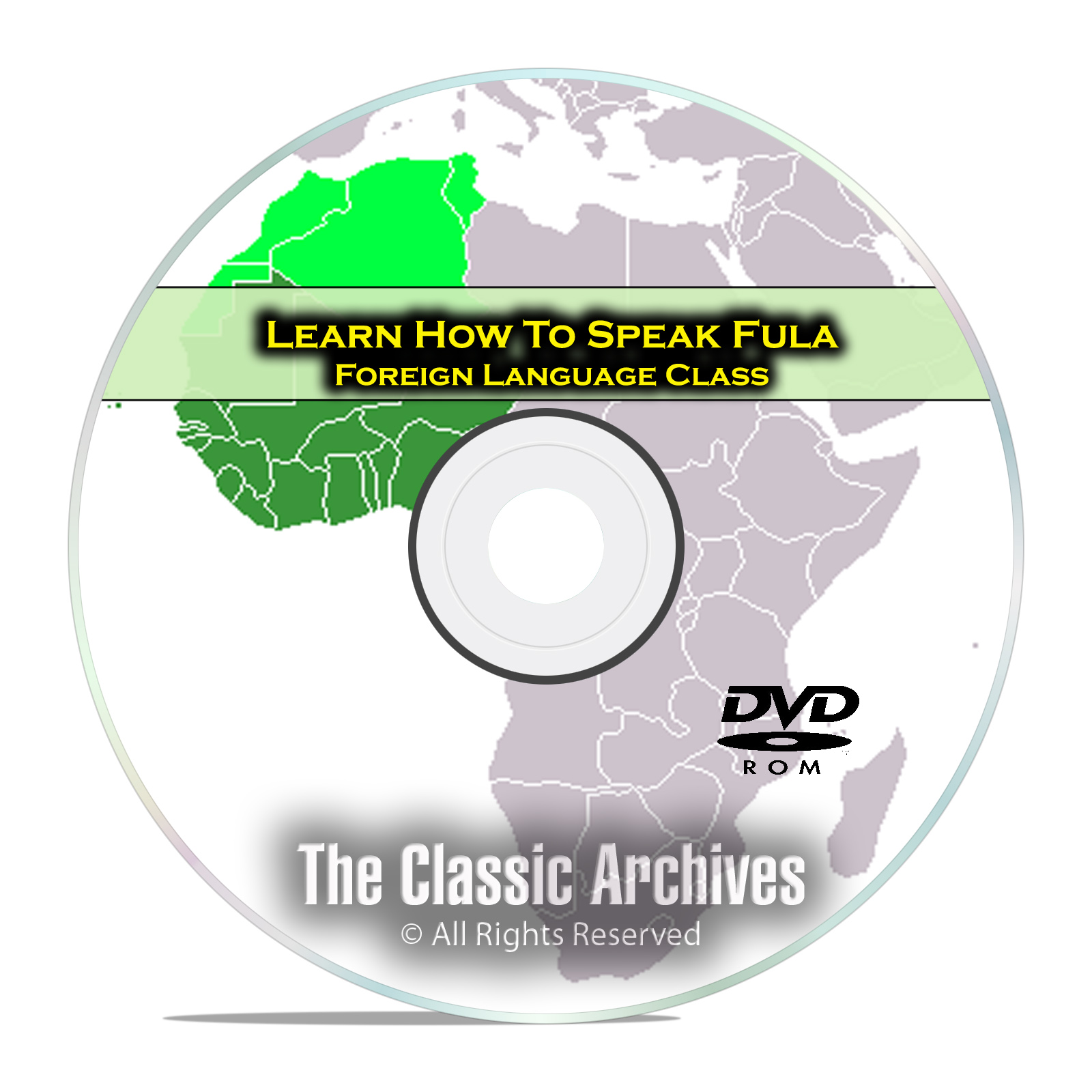 Learn How To Speak Fula, Fast & Easy Foreign Language Training Course, DVD