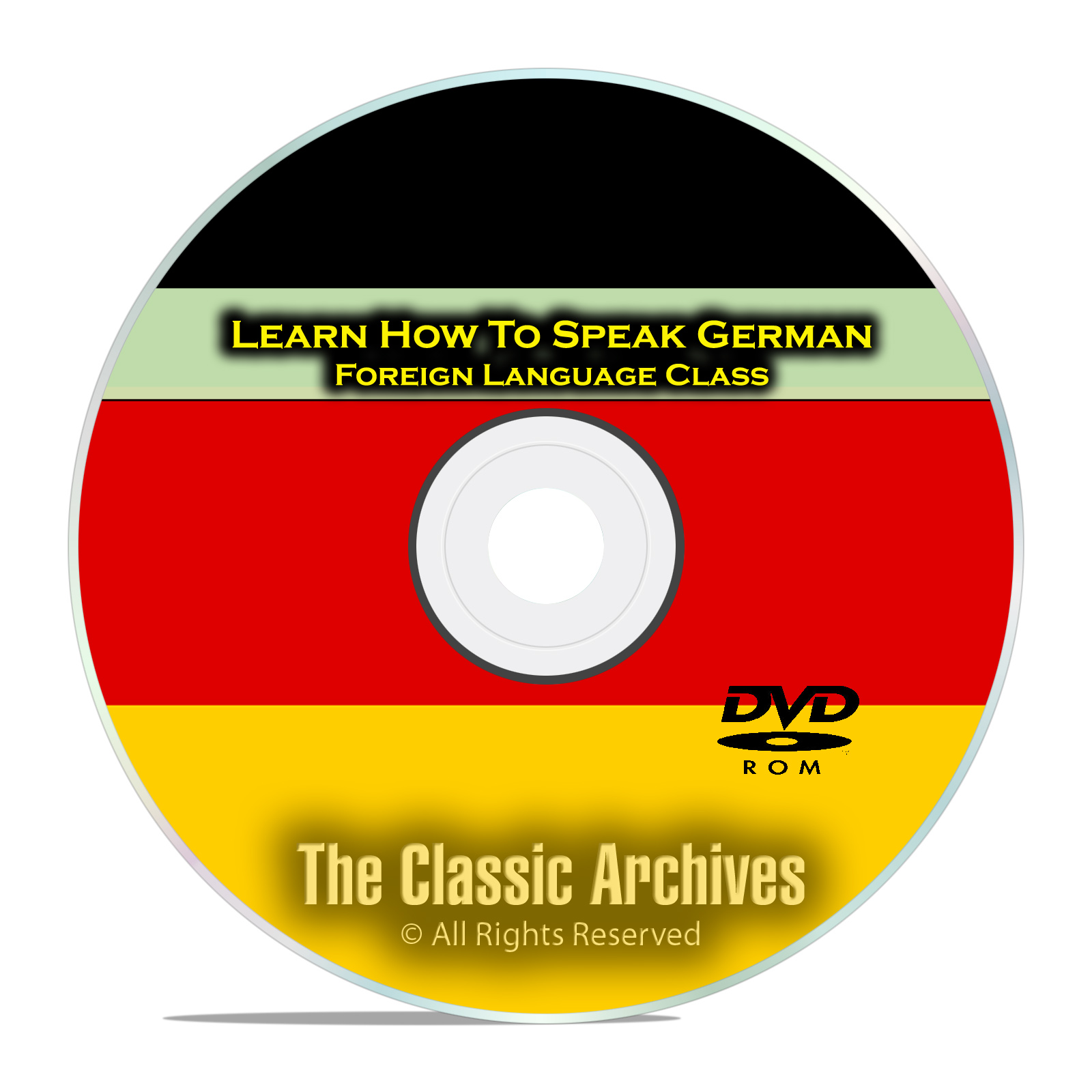 Learn How To Speak German, Fast Easy Foreign Language Training Course, DVD