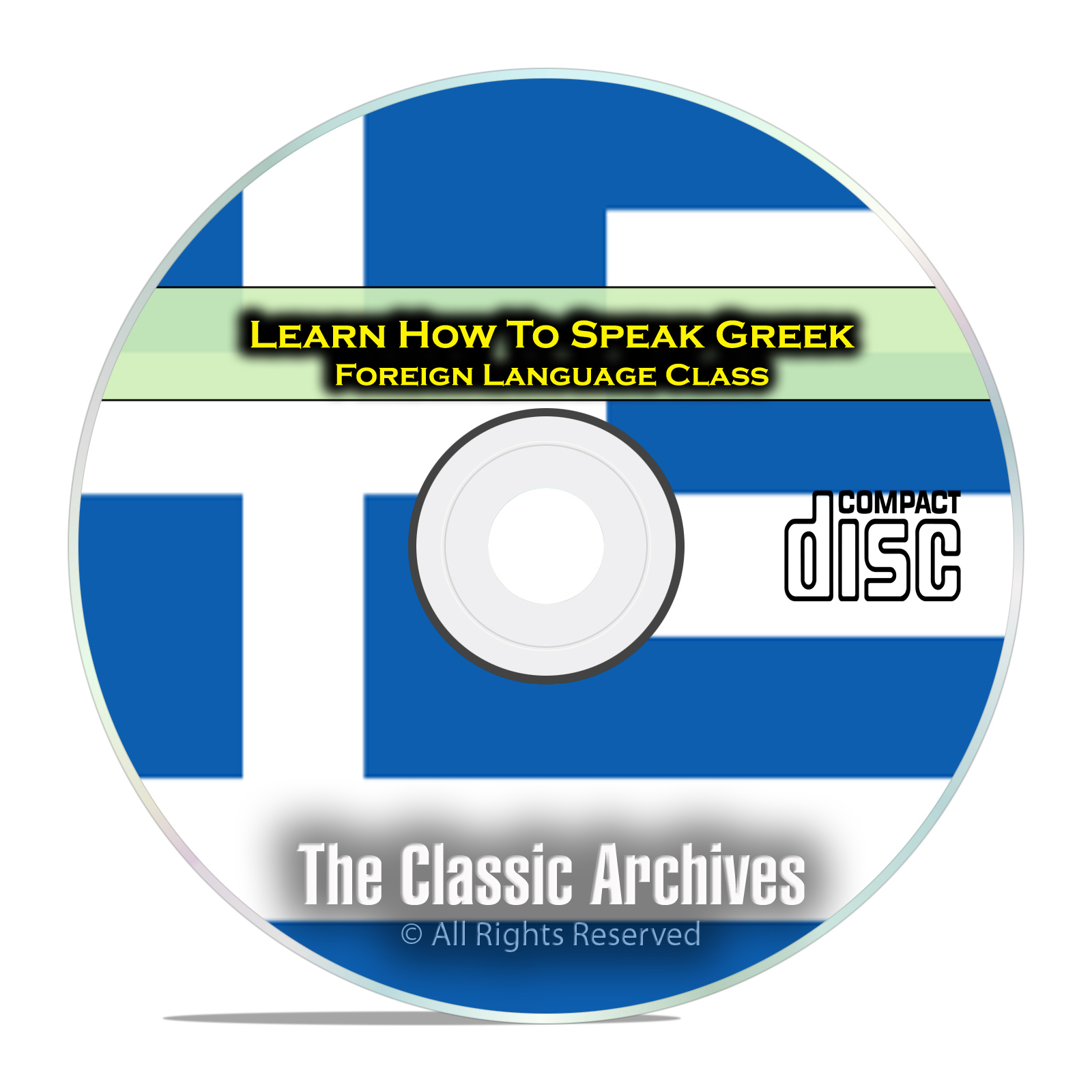 Learn How To Speak Greek, Fast Easy Foreign Language Training Course, CD