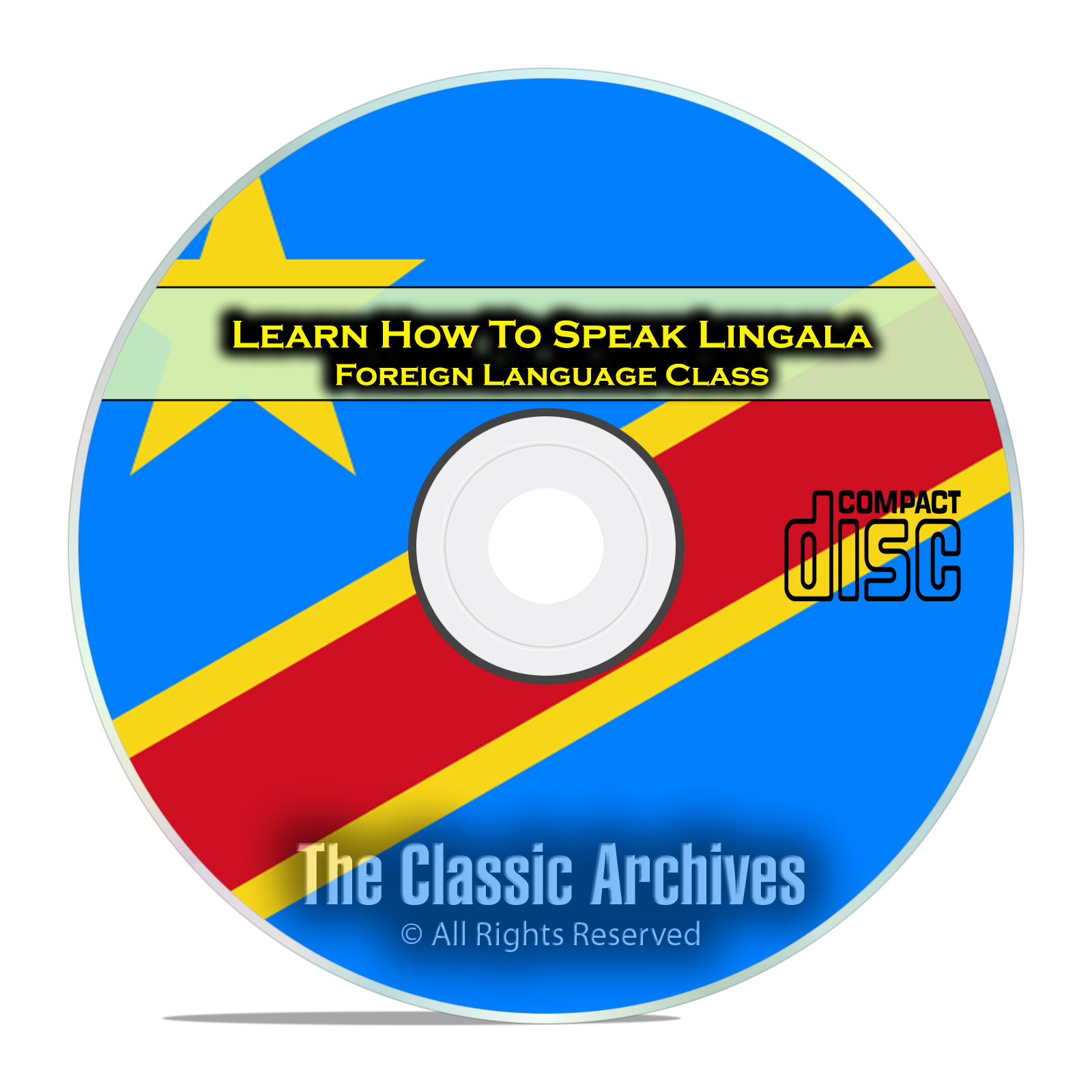 Learn How To Speak Lingala, Fast Foreign Language Training Course, CD