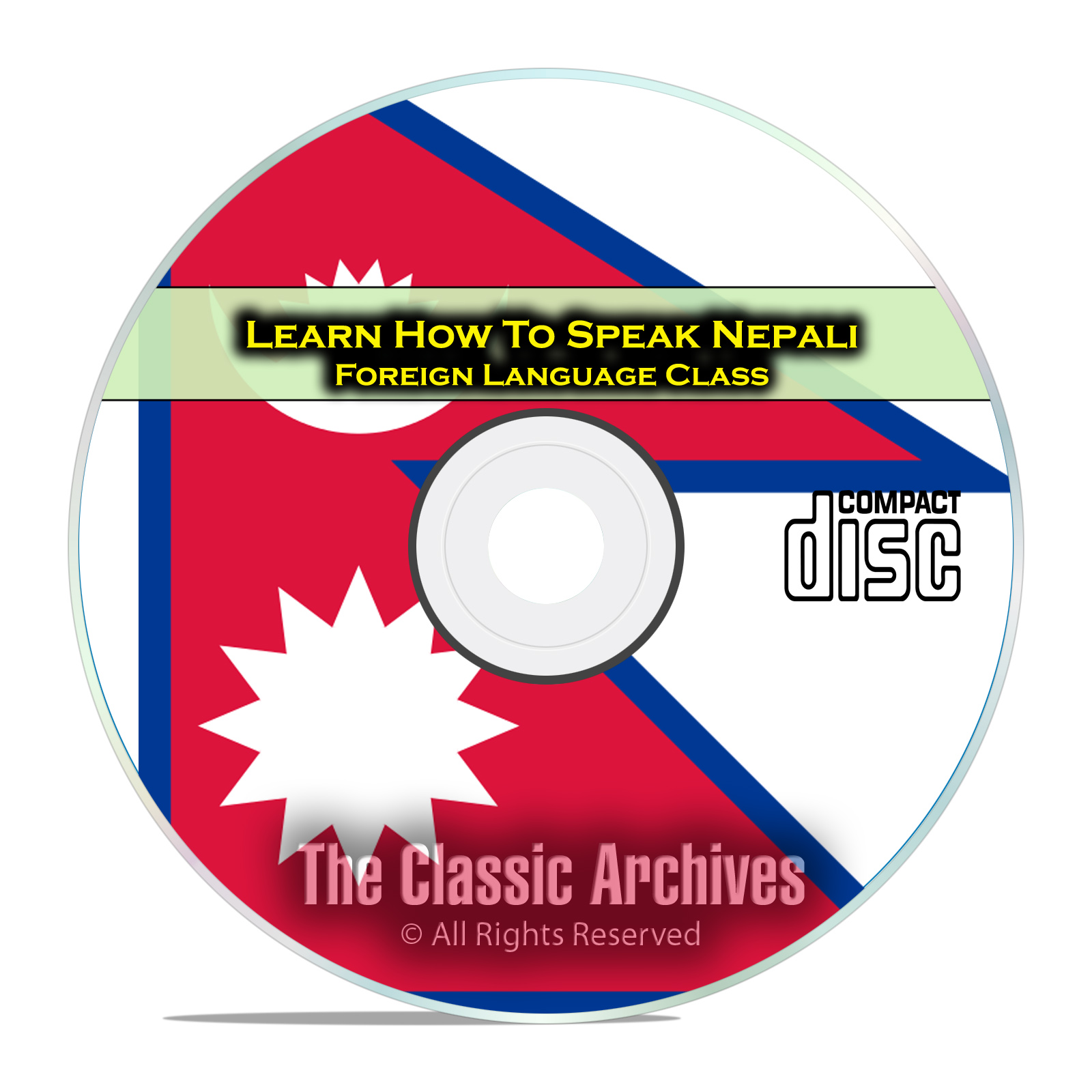 Learn How To Speak Nepali, Fast & Easy Foreign Language Training Course, CD