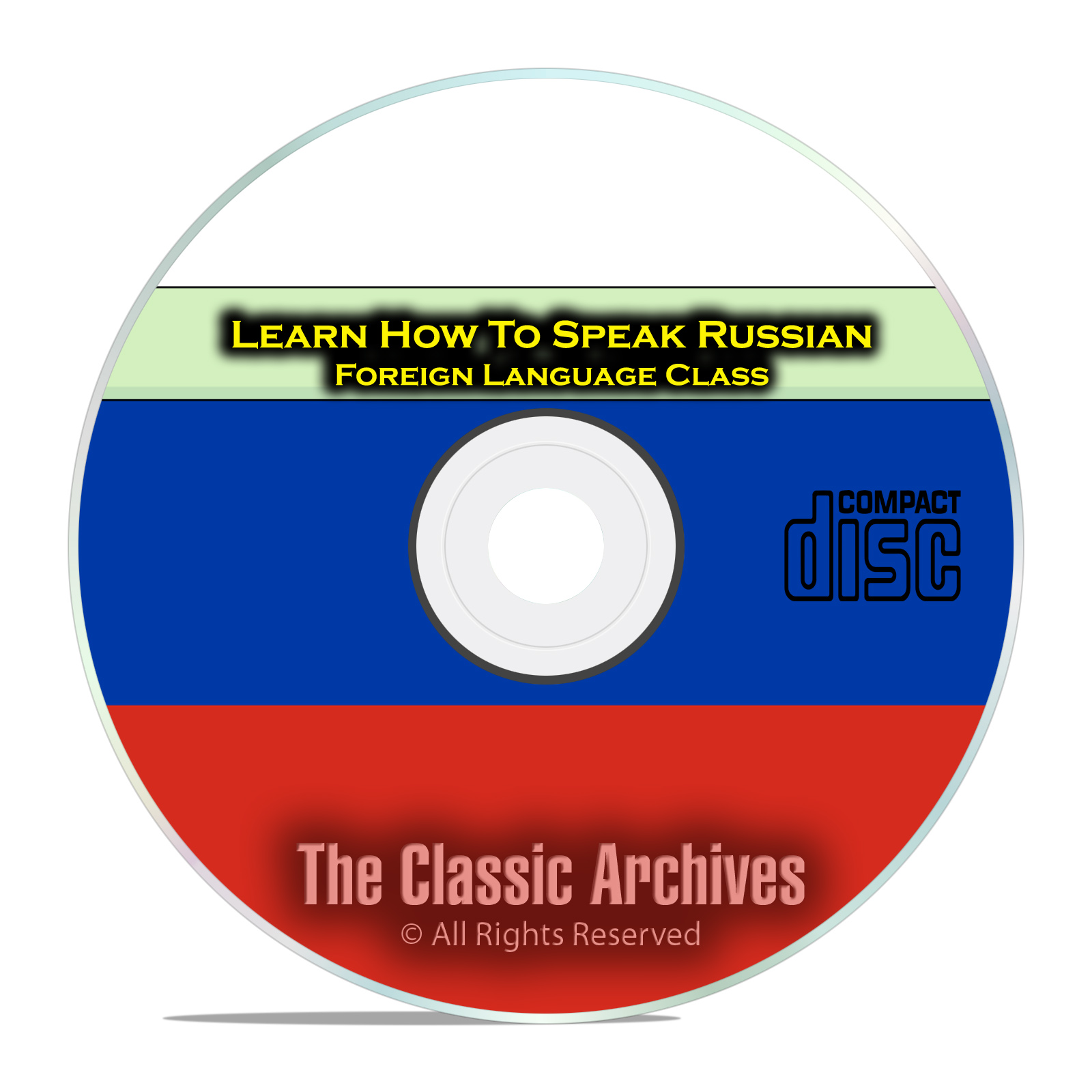 Learn How To Speak Russian, Fast & Easy Foreign Language Training Course CD