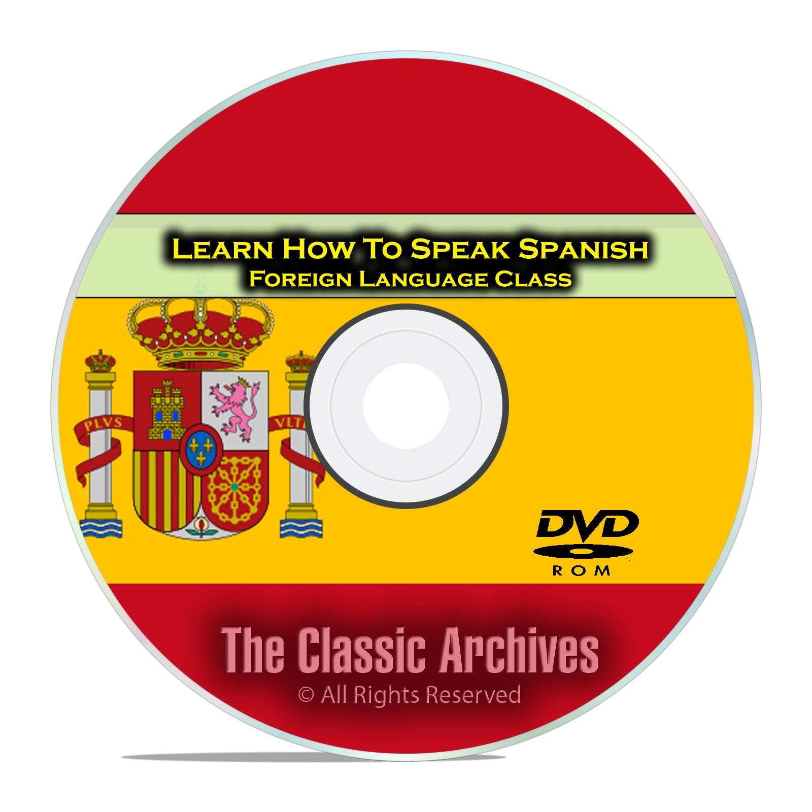 Learn How To Speak Spanish, Fast Foreign Language Training Course, DVD