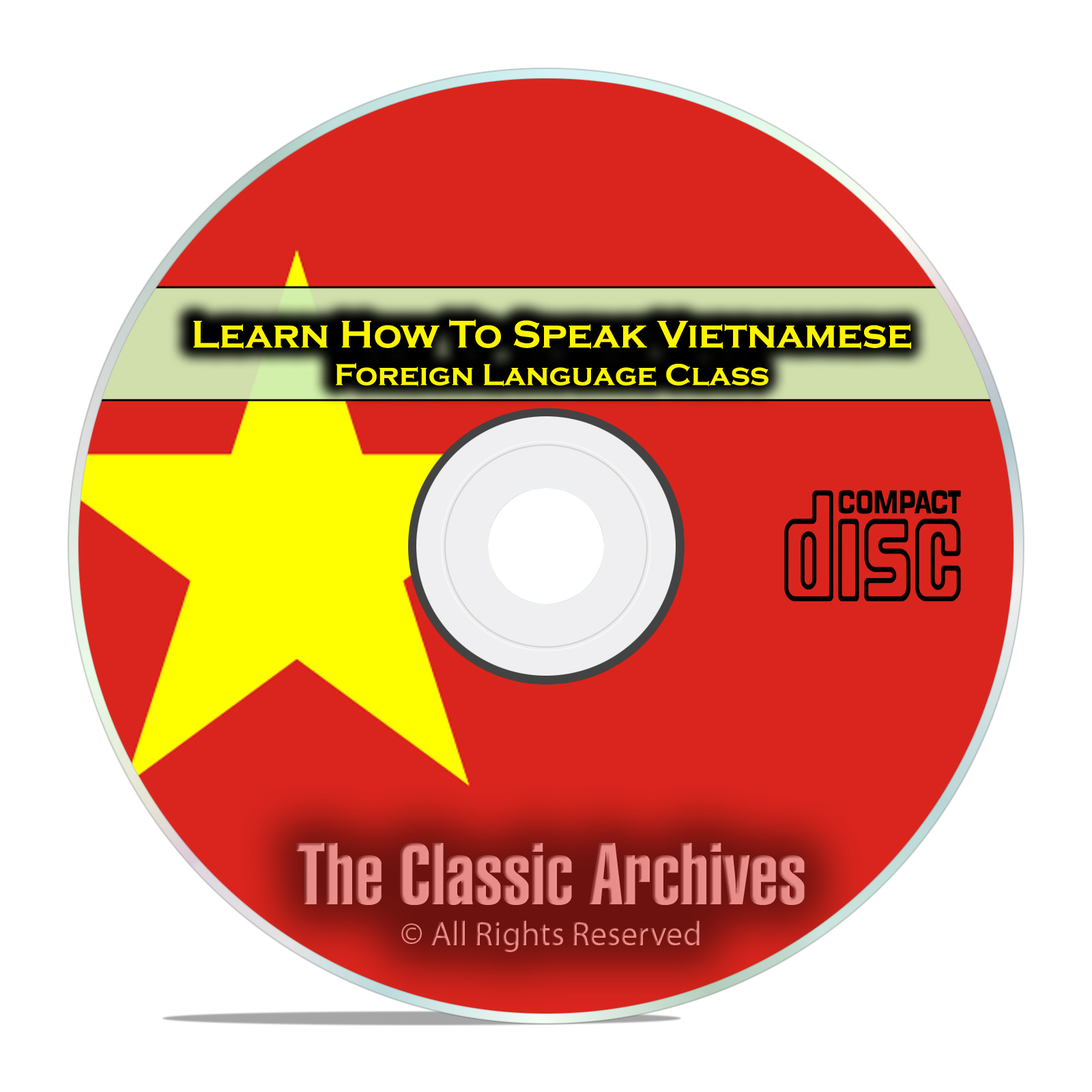 Learn How To Speak Vietnamese, Fast Foreign Language Training Course, CD