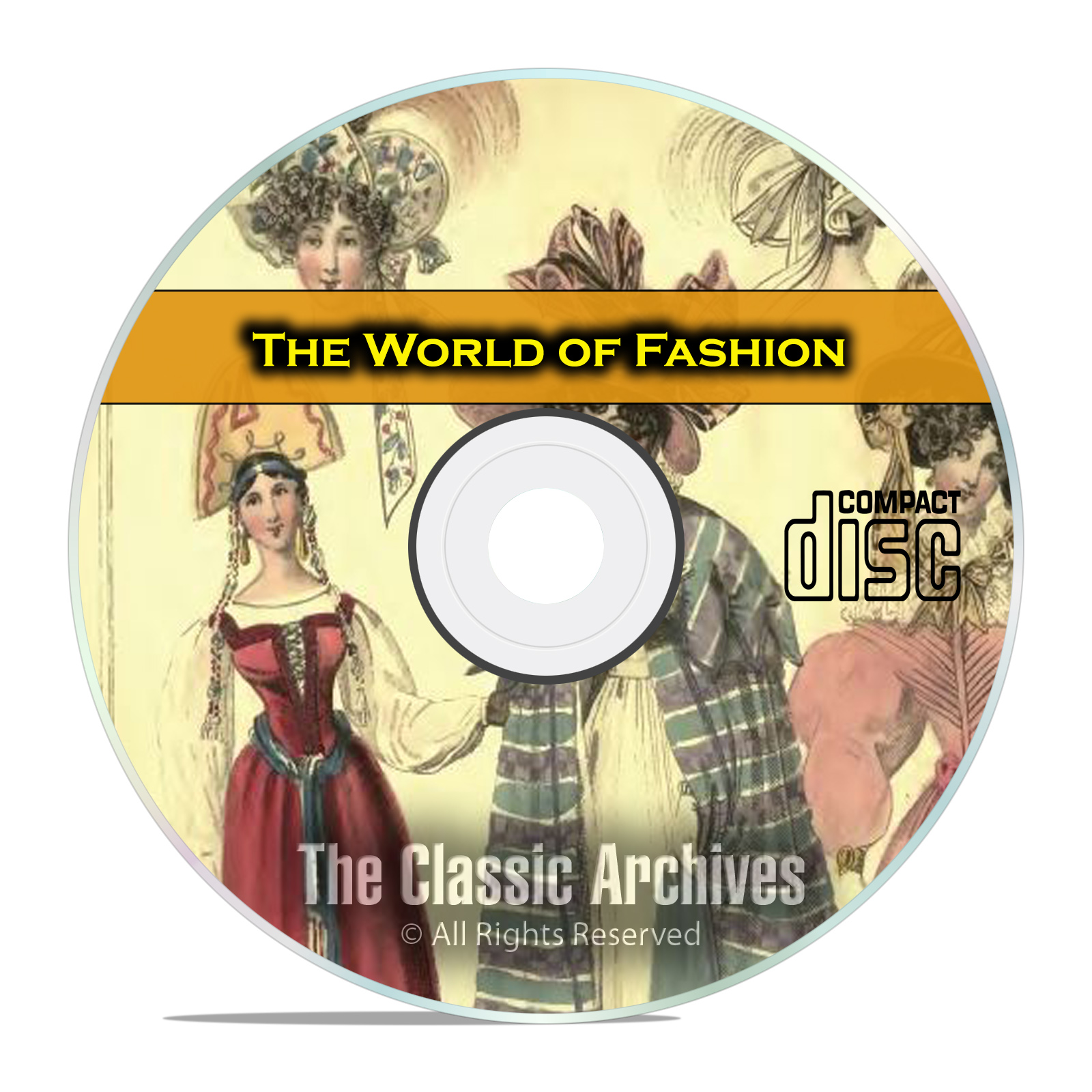 The World of Fashion Magazine, Victorian Dresses, Hats, Pics, PDF CD