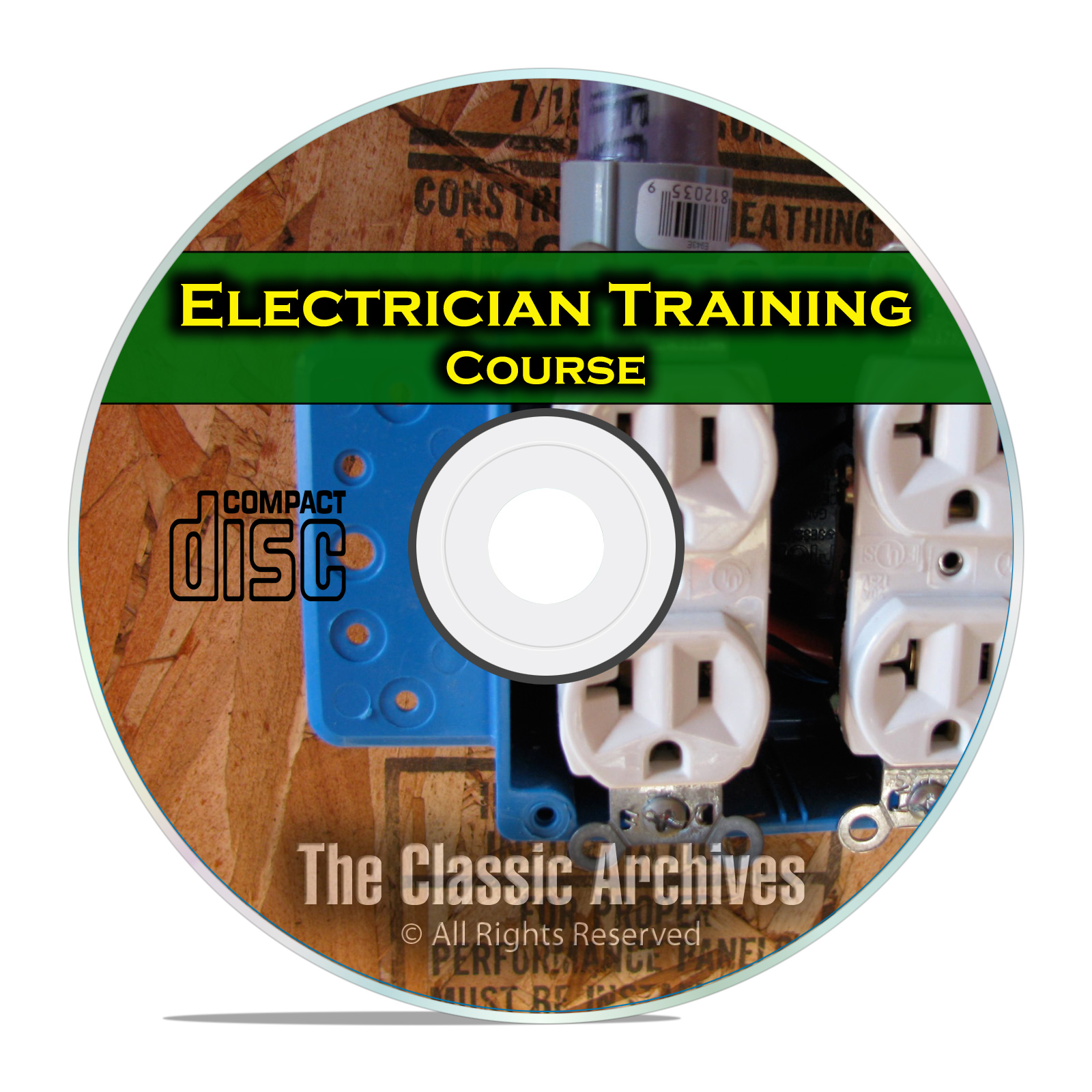 Electrician Journeyman Training Course Class, Electrical How To Manual CD