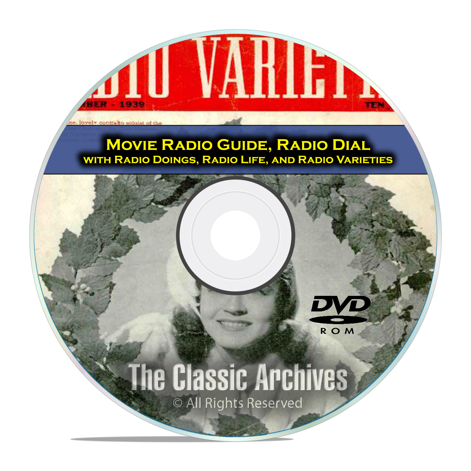 Movie Radio Guide, Radio Dial, Doings, 463 Old Time Radio Magazines PDF DVD